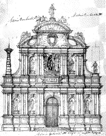 Architectural Facades Drawings Baroque Architecture Drawings